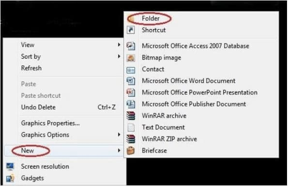 Invisible Folders On Windows