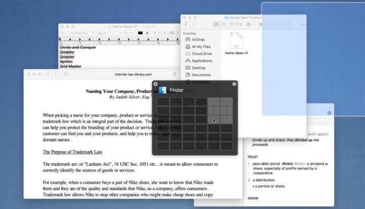 Windows Snap Screen