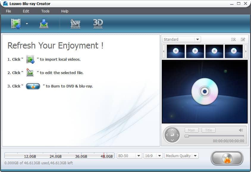 Top 3 Blu ray Creator software