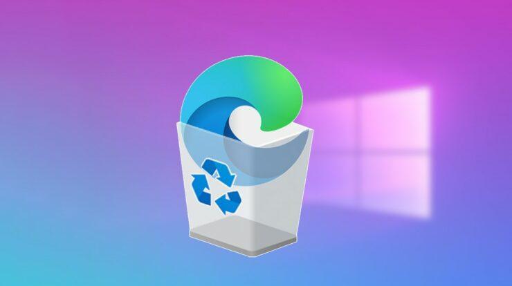 Remove Microsoft Edge From Windows 10