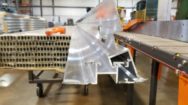 Under Pressure: An Inside Look At How Aluminum Extrusions Are Made