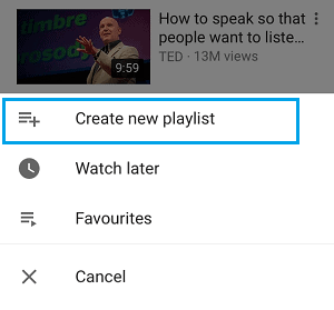 Loop YouTube Videos on Android